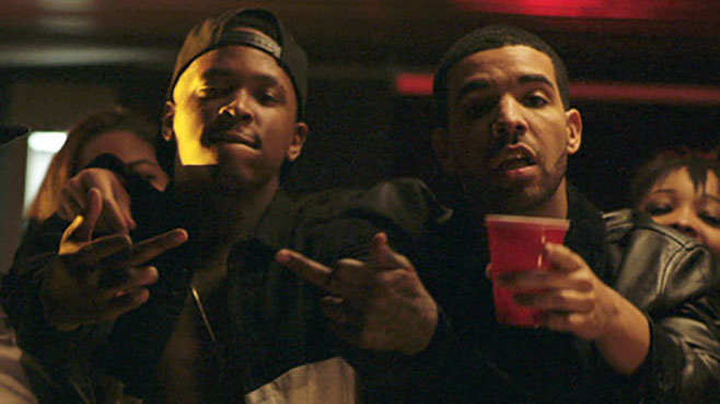 "YG et Drake dans le clip ""Who Do You Love"""