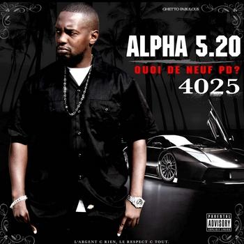 Alpha 5 20 - 4025 QUOI DE NEUF PD
