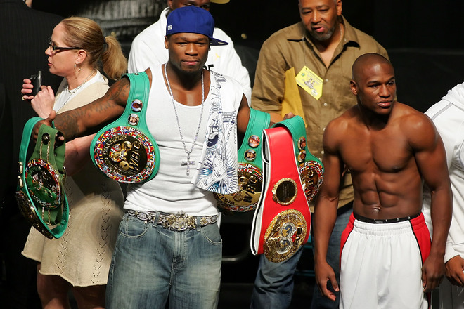 Floyd Mayweather et 50 Cent