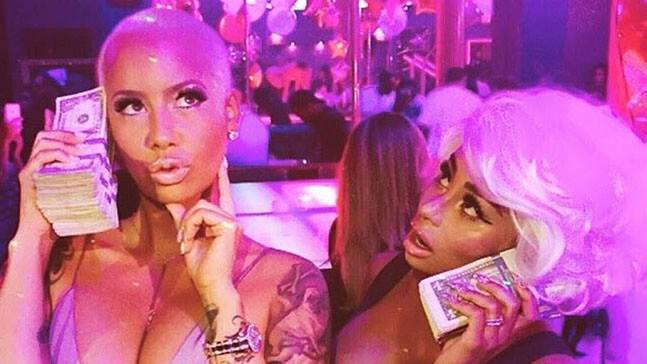 Amber Rose et Blac Chyna