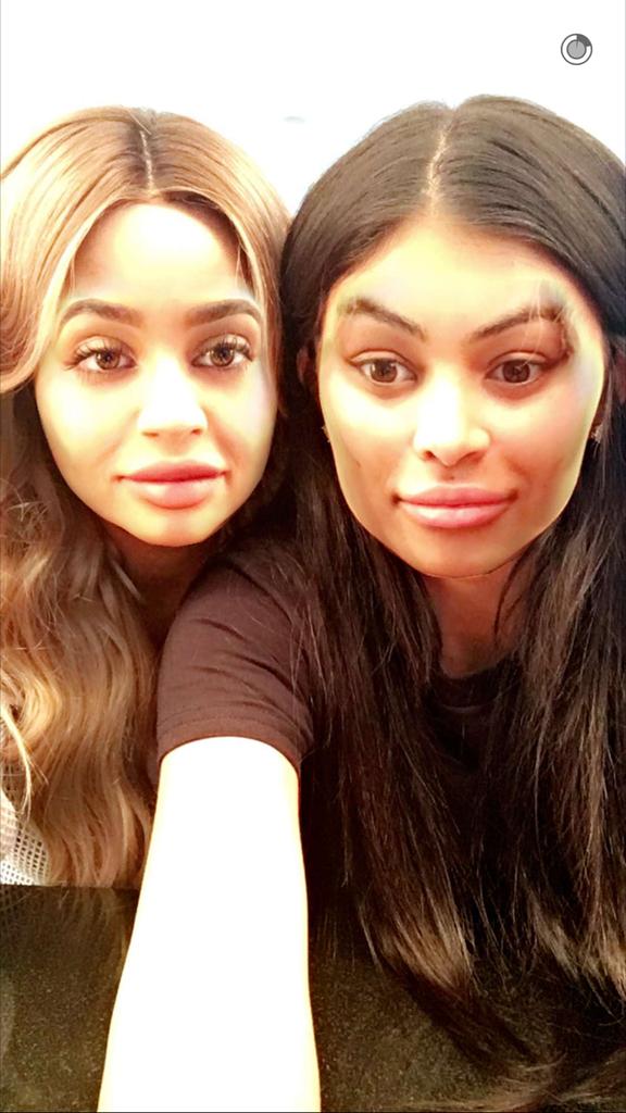 Blac Chyna et Kylie Jenner
