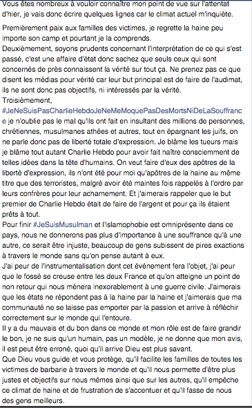 Jarod Charlie Hebdo