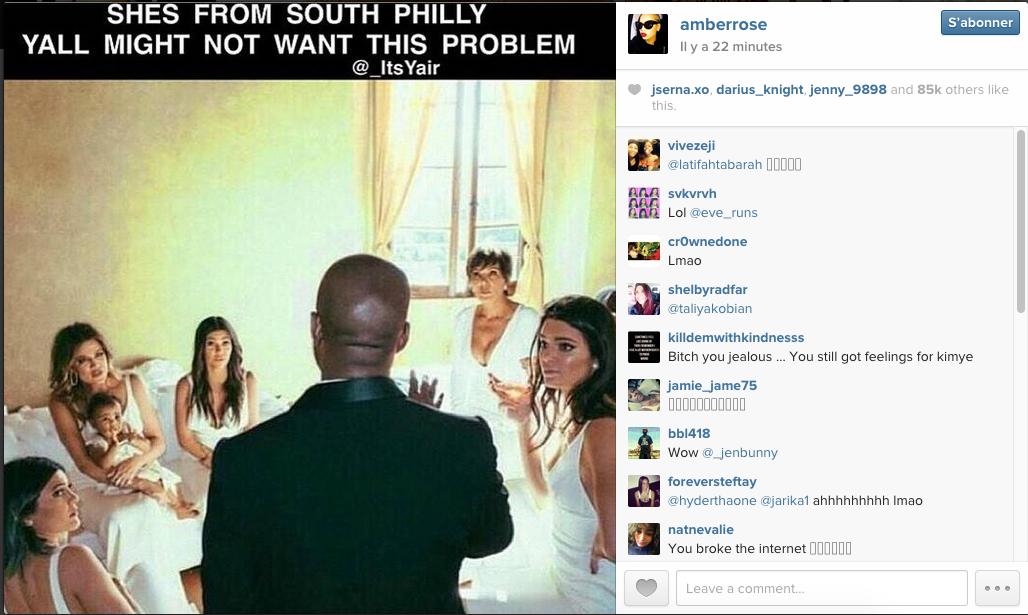 Amber Rose sur Instagram