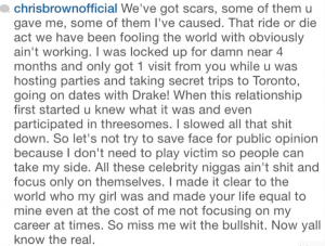 Chris Brown mess