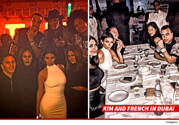 French Montana et Kim dubaï