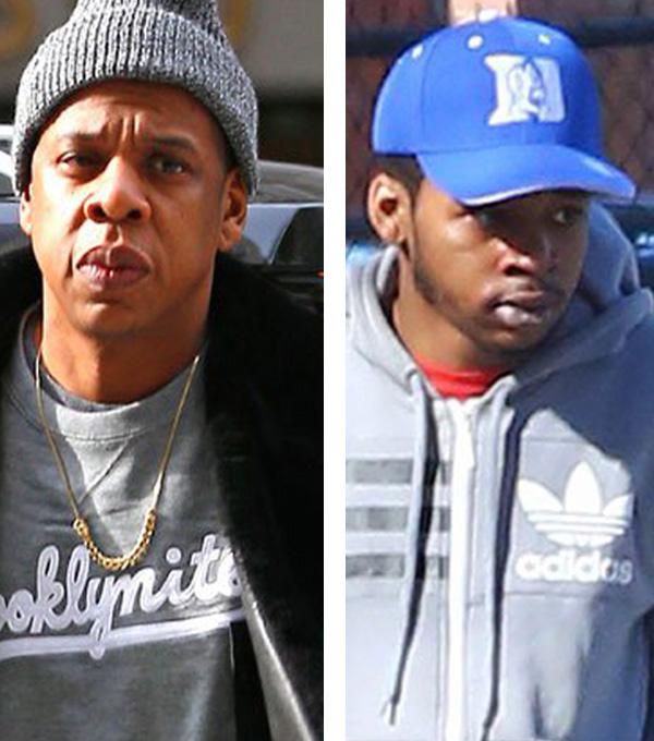 Jay Z et Rymir Satterthwaite
