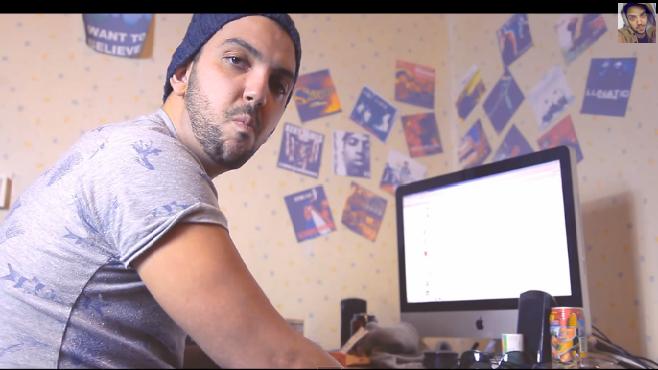 Jhon Rachid se met au rap et répond aux détracteurs avec humour