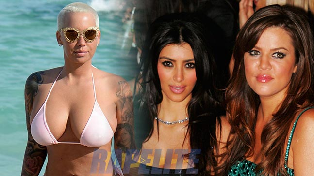 Amber Rose VS Khloe et KIm Kardashian