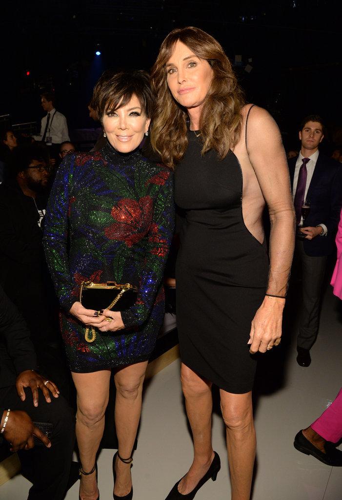 Kris Jenner et Caitlyn Jenner