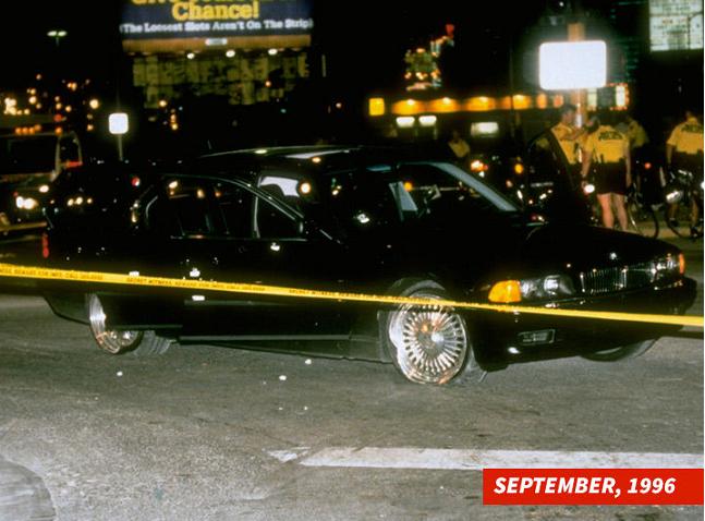La voiture dans laquelle 2Pac a été assassiné