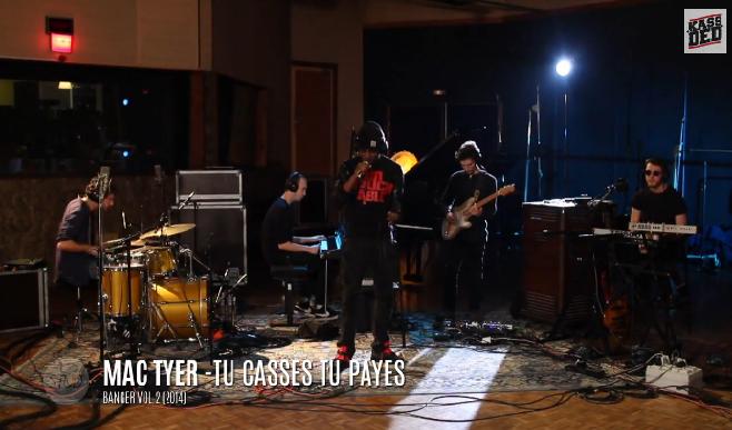 Mac Tyer - Tu Casses Tu Payes (Stud' Live Session #2)