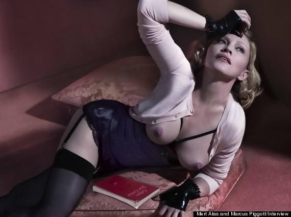 Madonna nue