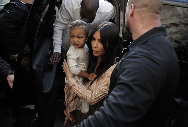 North et Kim Kardashian