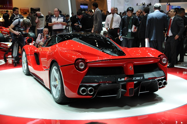 Nouvelle Ferrari d'Ibra 1