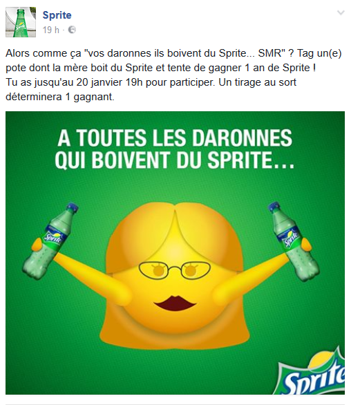 OPÉRATION MARKETING SPRITE