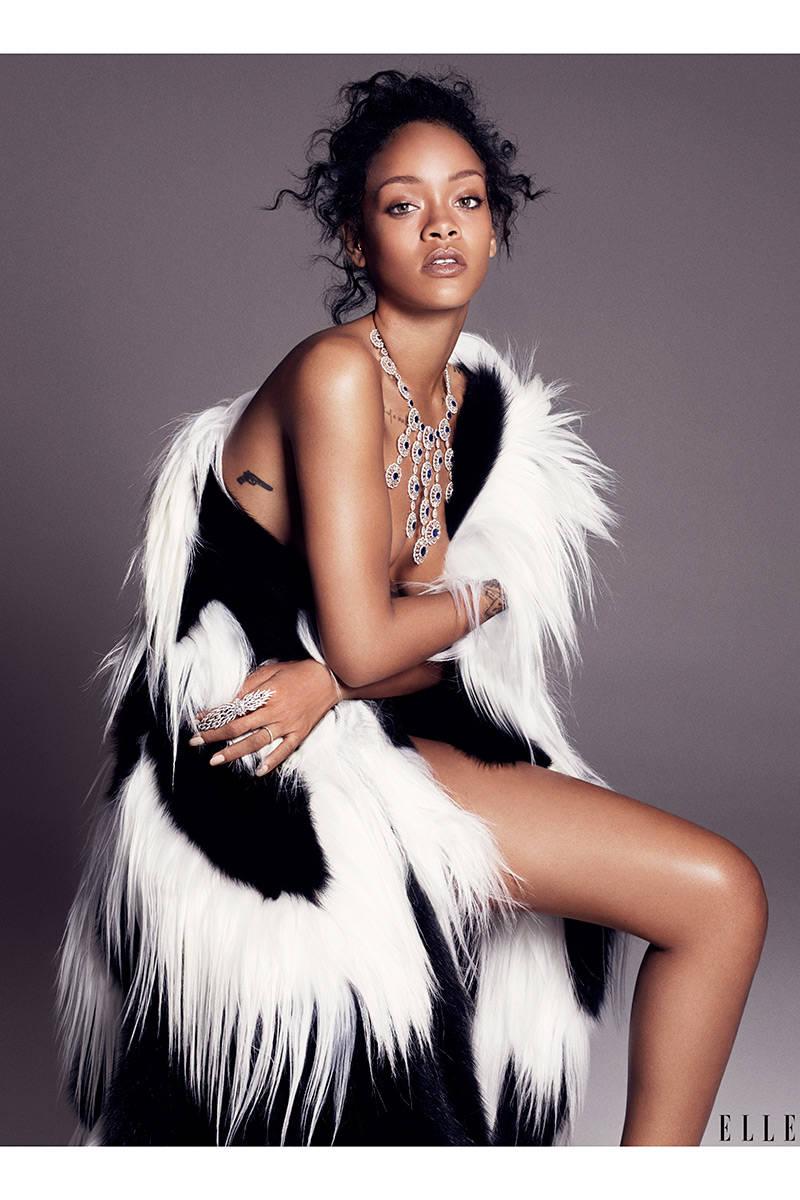 Rihanna Elle 3