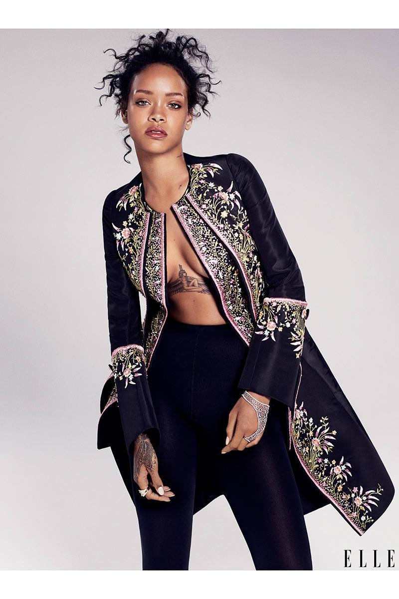 Rihanna Elle 4