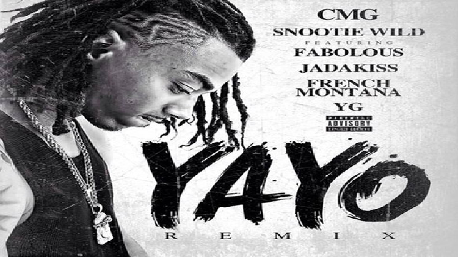 """Snootie Wild invite Fabolous, Jadakiss, French Montana et YG pour le remix du titre """"Yayo"""""""