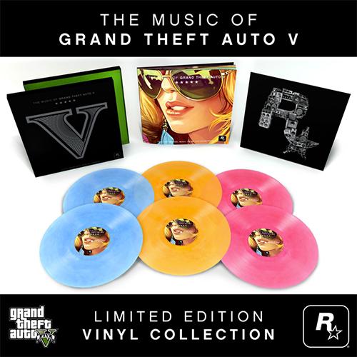 Les Vinyles en édition limitée de GTA V