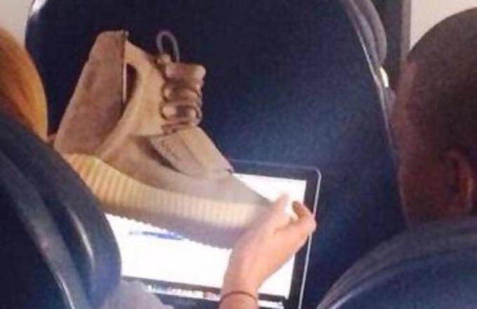 Yeezi III Kanye West avion