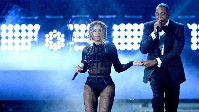 Beyonce et Jay Z en live