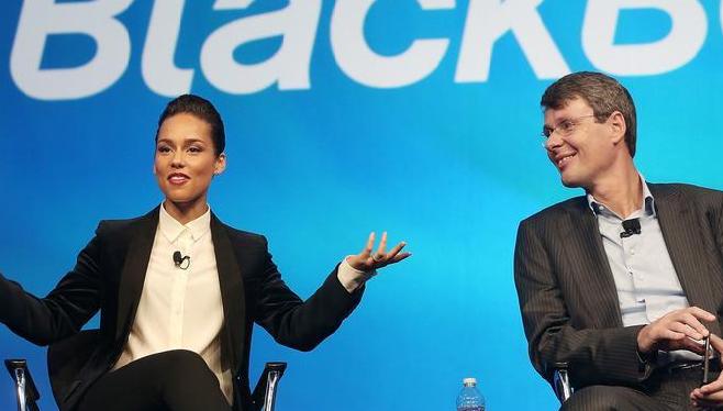 Blackberry et Alicia Keys se sépare