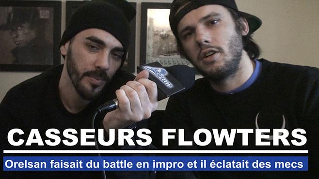 Casseurs Flowters : Orelsan faisait du battle en impro et éclatait des mecs