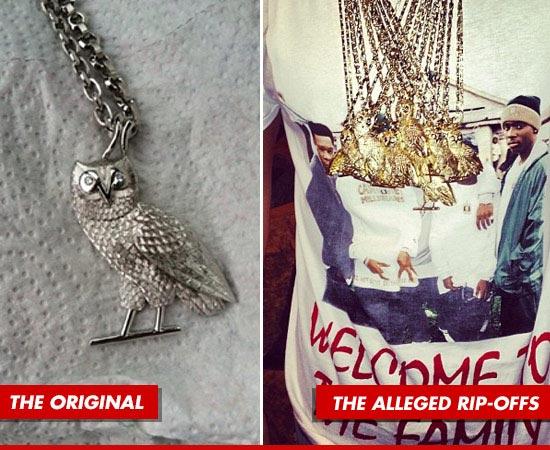 A gauche le modèle original/à droite celui de Drake