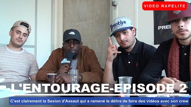 L'Entourage : C'est clairement la Sexion d'Assaut qui a ramené le délire de faire des vidéos avec son crew