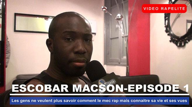 Escobar Macson : Les gens ne veulent plus savoir comment le mec rap mais connaitre sa vie