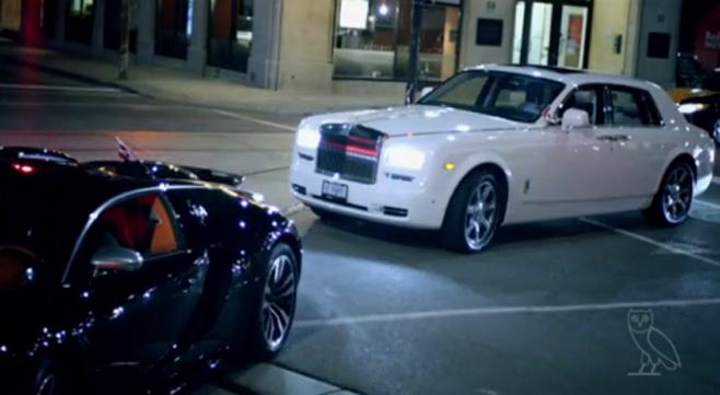 Drake Rolls Royce, Maybach, Lamborghini,Bugatti pour le trailer de son album