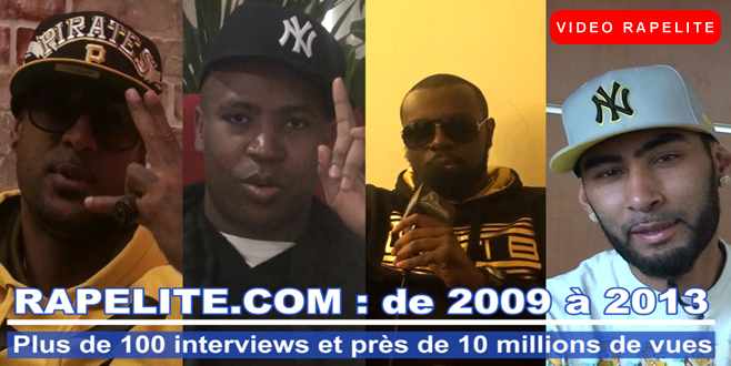 Rapelite.com ,nouvelle version avec Booba,Rohff,Maitre Gims,La Fouine