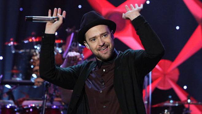 "Justin Timberlake livre un gros live de son single ""TKO"""