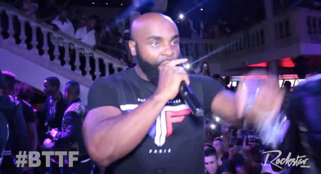 En vidéo, Kaaris en show energique au Palacio