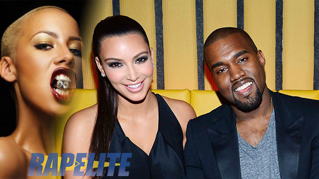 Amber Rose VS Kanye West et Kim Kardashian