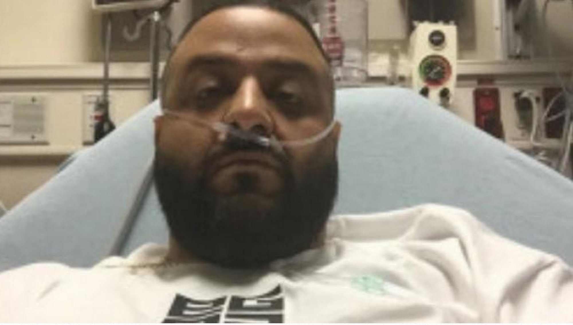 DJ Khaled sur son lit d'hôpital