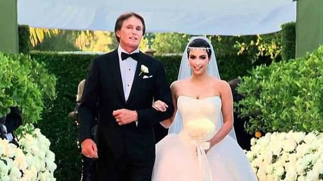 Bruce Jenner et Kim Kardashian