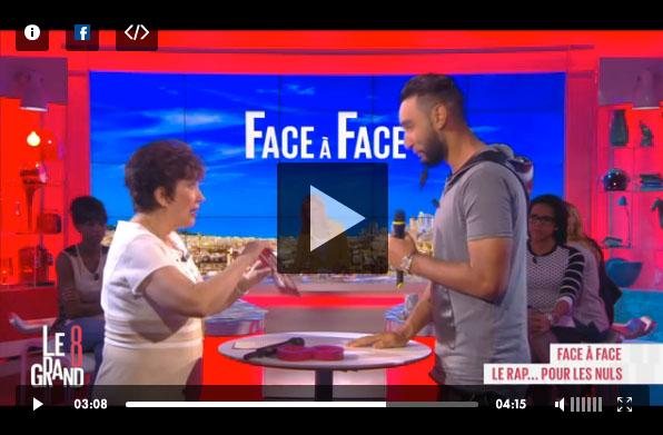 La Fouine apprend à rapper à l'ex ministre Roselyne Bachelot