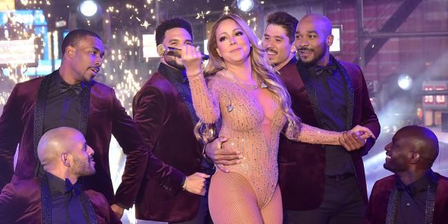 Mariah Carey Times Square