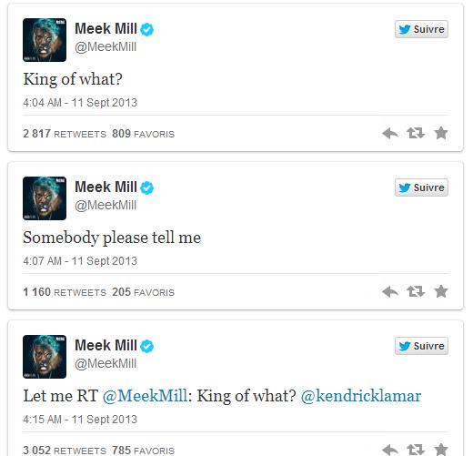 Les tweets de Meek Mill