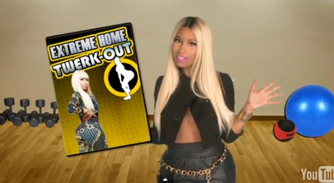 En vidéo, Nicki Minaj révèle son secret pour avoir un fessier bombé