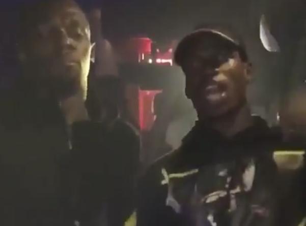 Paul Pogba et Usain Bolt Nouvel An