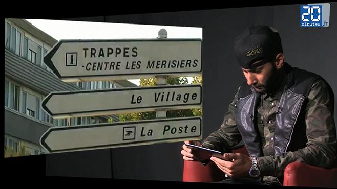 """La Fouine : """"Je suis très ami avec Omar Sy"""""""