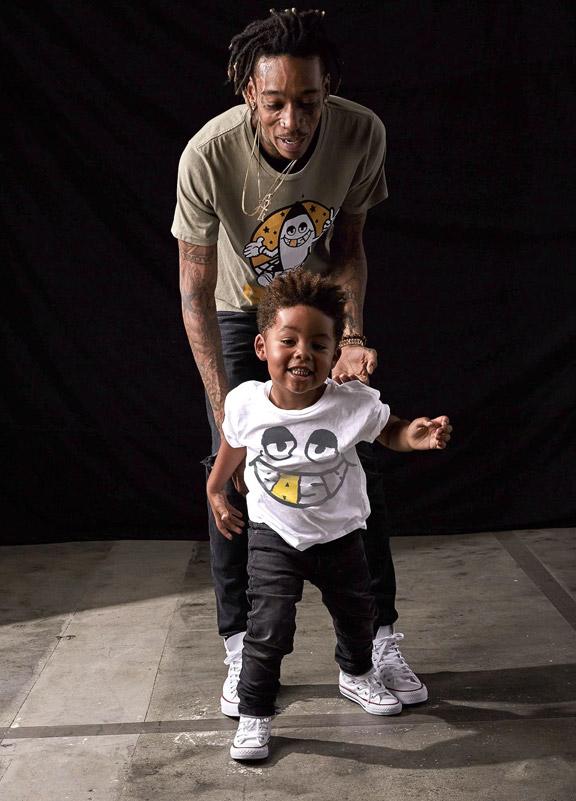 Wiz khalifa et son fils Sebastian